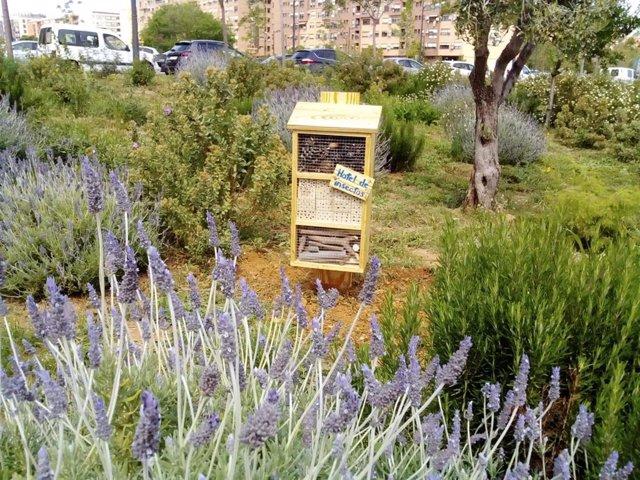 Hotel de insectos en València