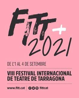 Cartell del X Festival Internacional de Teatre de Tarragona (FITT)