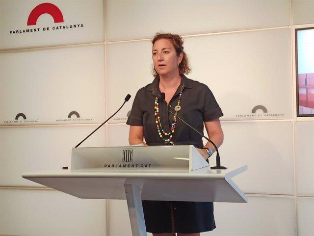 La portaveu del PSC-Units sl Parlament, Alícia Romero