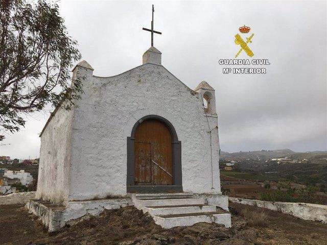 Ermita de la zona norte de la isla de Gran Canaria