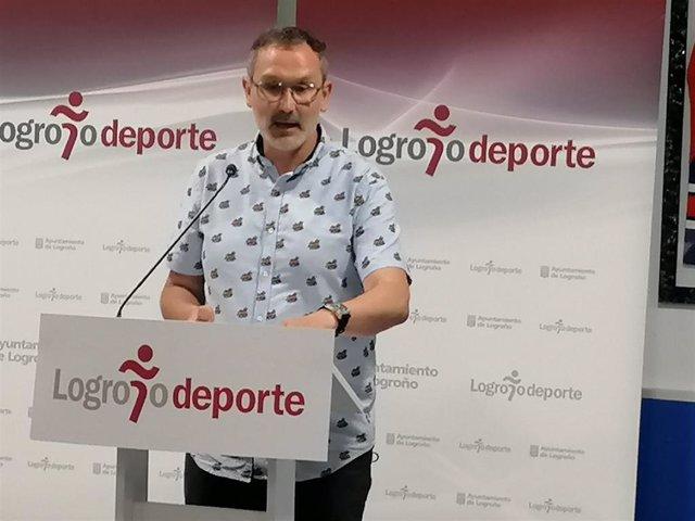 Rubén Antoñanzas, concejal de Deportes.