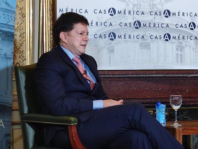 El ministro de Justicia y del Derecho de Colombia, Wilson Ruiz Orejuela.