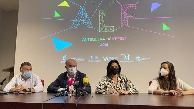 Presentación del Antequera Light Fest