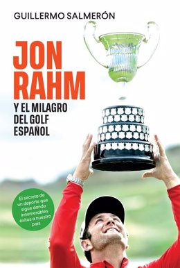 Guillermo Salmerón presenta su libro 'Jon Rahm y el milagro del golf español'.
