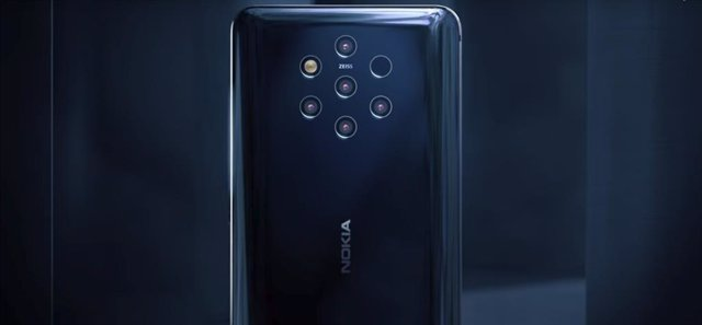 Archivo - Nokia 9 PureView