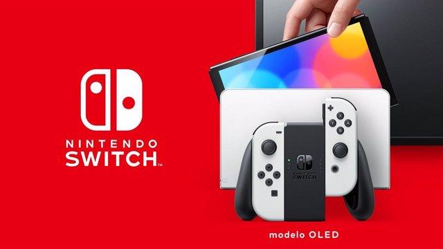 Nintendo Switch (modelo OLED).