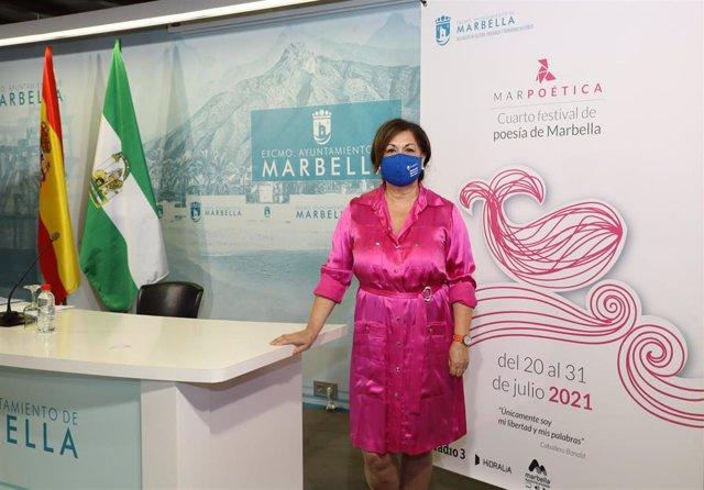 Carmen Díaz, directora general de Cultura del Ayuntamiento de Marbella (Málaga)