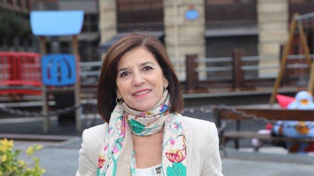 Archivo - La eurodiputada del PNV, Izaskun Bilbao
