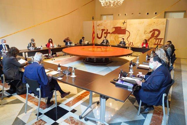 Reunió del Consell Executiu del 6 de juliol del 2021