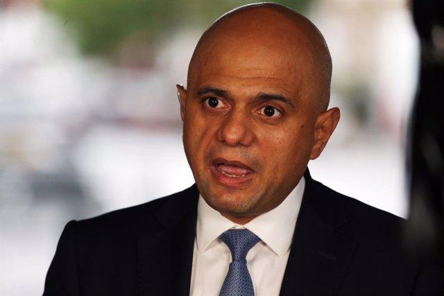Sajid Javid, ministro de Sanidad de Reino Unido