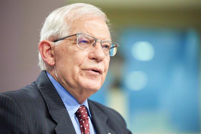 Arxiu - L'alt representant de la UE per a la Política Exterior, Josep Borrell