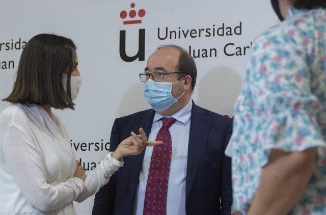 El ministro de Política Territorial y Función Pública, Miquel Iceta