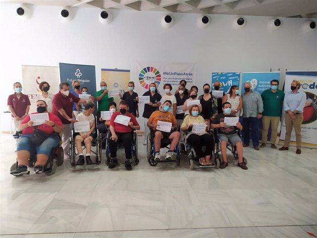 Representantes de Cermi Andalucía en Córdoba.