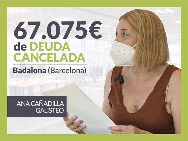 Ana Cañadilla, exonerada con Repara Tu Deuda con la Ley de Segunda oportunidad