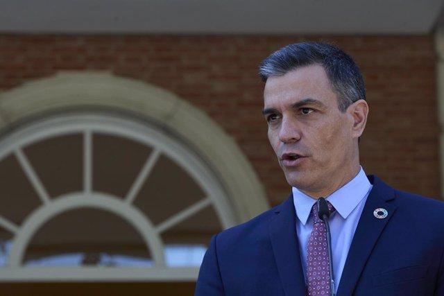Arxiu - El president del Govern central, Pedro Sánchez