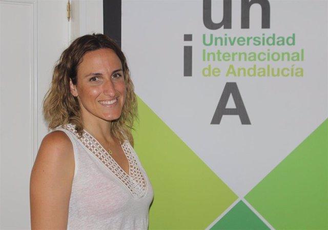 La directora del encuentro 'Nuevas Tecnologías para la Educación Infantil y Primaria. Robótica y Programación' de los cursos de verano de la UNIA, Elena Díaz