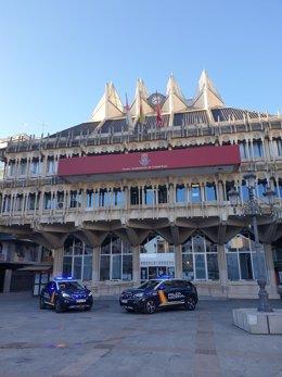 Coche Policía Nacional en Ciudad Real