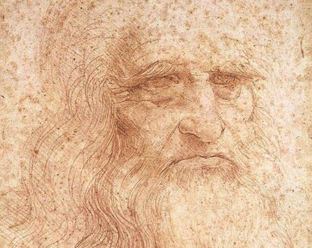 Supuesto autorretrato de Leonardo Da Vinci