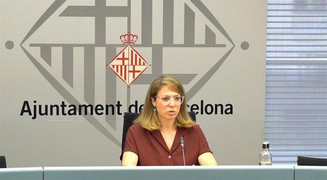 La teniente de alcalde de Ecología, Urbanismo y Movilidad de Barcelona, Janet Sanz - Archivo