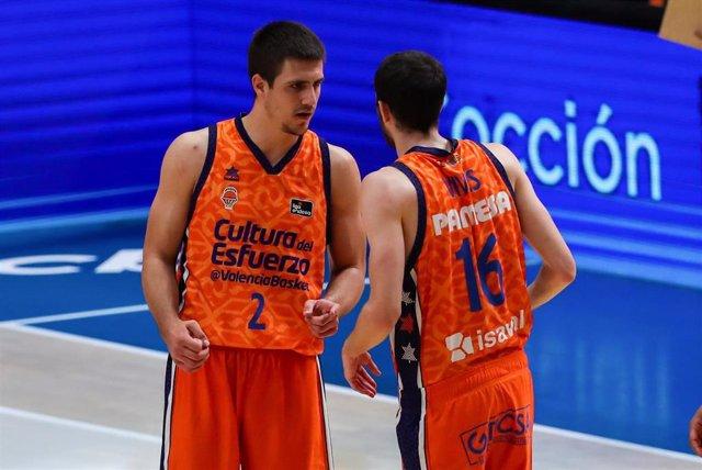 Archivo - Vanja Marinkovic en el Valencia Basket