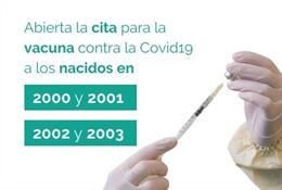La vacunación se ha abierto a cohortes más jóvenes.