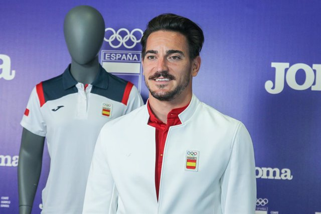 Archivo - Damian Quintero, karateka of Spain during the official presentation of the Spanish Olympic Team kit for the Tokyo 2020 Olympic Games at Comite Olimpico español on Jun 1, 2021 in Madrid, Spain.