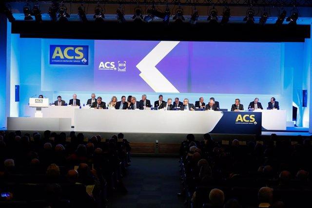 Archivo - Junta de Accionistas de ACS