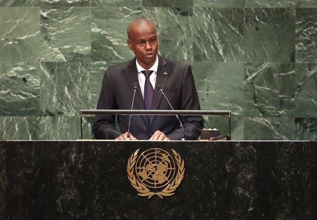 Archivo - Arxiu - El president d'Haití, Jovenel Moïse