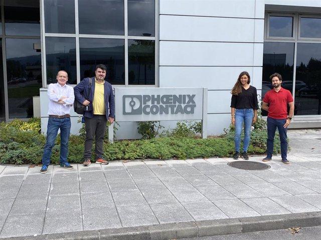 Investigadores de la Universidad de Oviedo reciben financiación de la Fundación Phoenix Contact