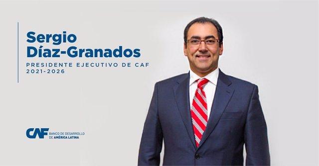 Sergio Díaz-Granados, nuevo presidente ejecutivo del banco de desarrollo de América Latina (CAF)