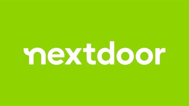 Logo de Nextdoor.