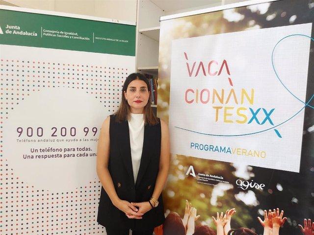 La asesora de programa del IAM en Sevilla, Marta Gómez