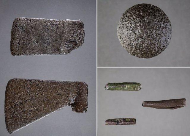 Objetos metálicos de la expedición de Hernando de Soto del siglo XVI