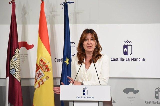 La consejera de Igualdad y portavoz, Blanca Fernández