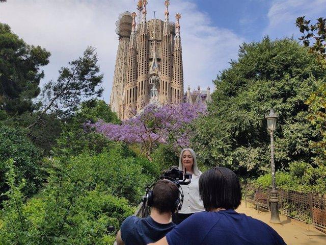 Rodaje en Barcelona