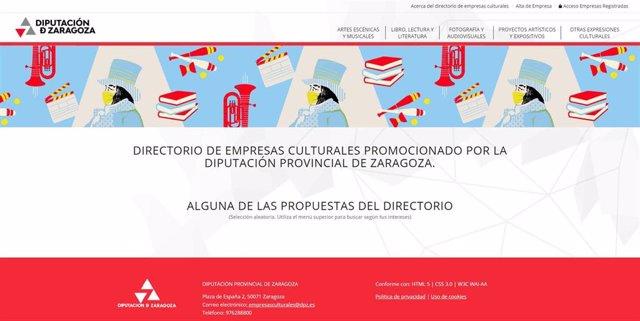 La web agrupará la oferta cultural del territorio