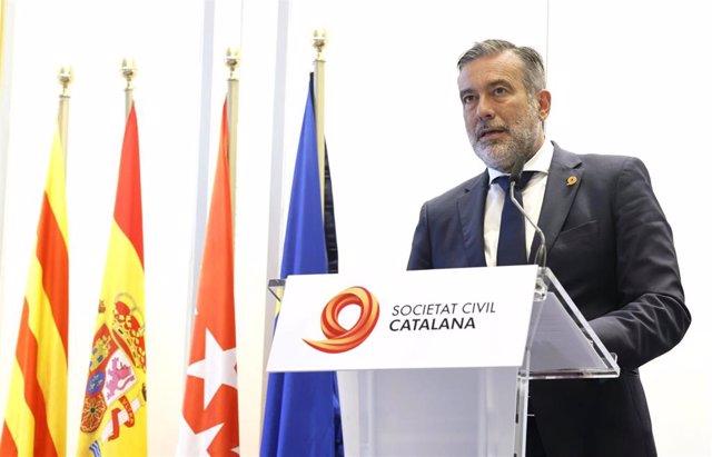 El consejero de Presidencia, Justicia e Interior de la Comunidad de Madrid, Enrique López