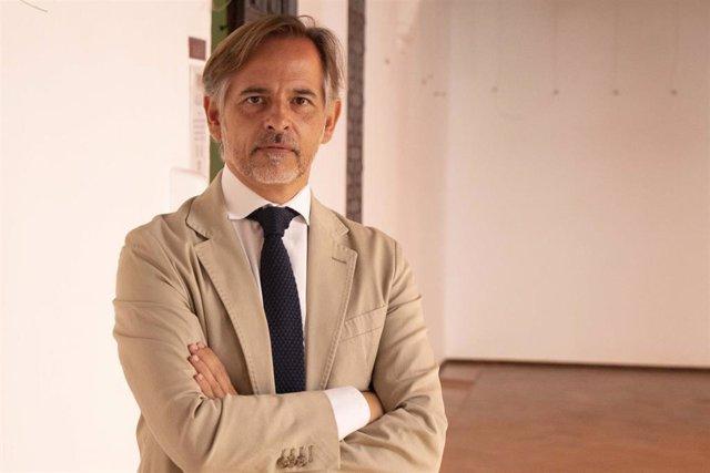 José Carlos Cabrera durante el seminario 'Intervención social con personas en riesgo de exclusión', impartido en los Cursos de Verano de la UPO en Carmona (Sevilla)