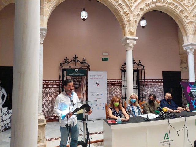 Presentación de la II Bienal de Flamenco de Cádiz, Jerez y los Puertos en Jerez de la Frontera.