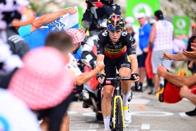 El belga Wout van Aert gana la undécima etapa del Tour de Francia de 2021, con dos ascensiones al Mont Ventoux.