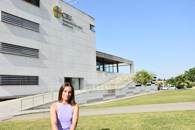 Teresa Parralo, alumna de 3º del Grado en Educación Primaria de CEU Andalucía.