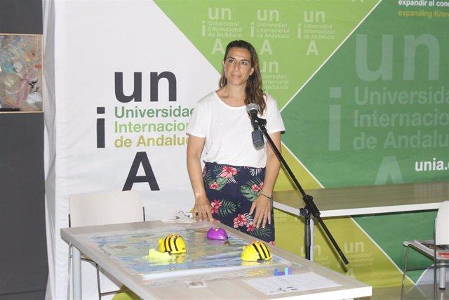 La profesora de robótica y miembro de la Red Andaluza de Robótica y Tecnología Educativa, María Martín.