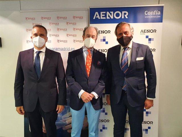 AENOR entra en el capital de Cámara Certifica