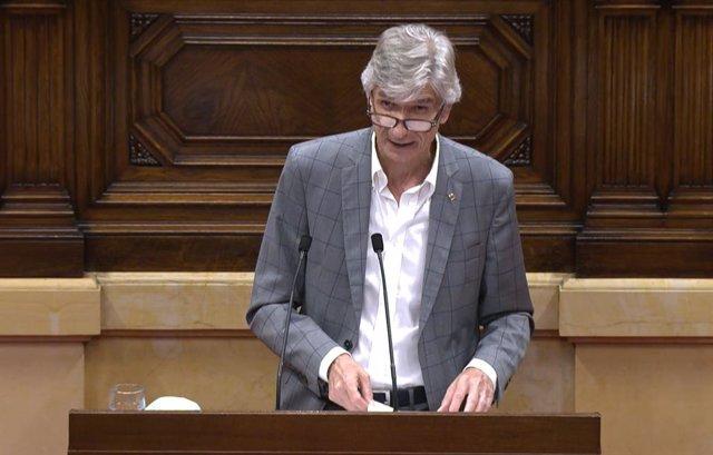 El conseller de Salud de la Generalitat, Josep Maria Argimon.