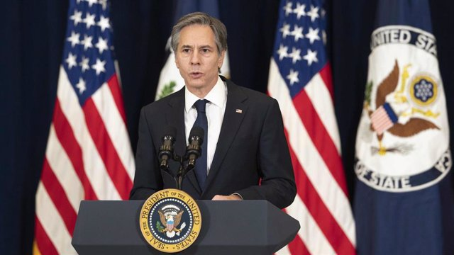 Archivo - El secretario de Estado de EEUU, Antony Blinken