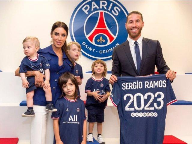 Sergio Ramos acaba de ser presentado oficialmente commo jugador del París Sant Germain
