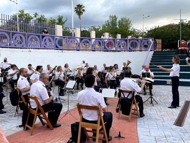 Archivo - Concierto de la Banda Municipal de Música de Jaén.