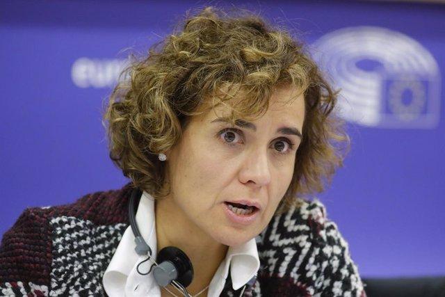 Archivo - Arxiu - La portaveu del Partit Popular al Parlament Europeu, Dolors Montserrat