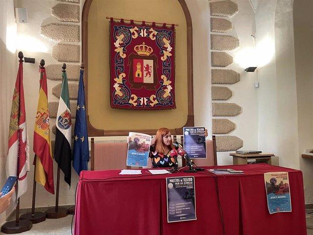 La concejala de Cultura, Fernanda Valdés, presenta la programación para este verano en Cáceres que aglutina más de 60 actividades