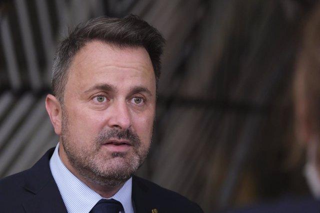 El primer ministro de Luxemburgo, Xavier Bettel